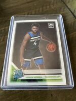 2019-20 OPTIC CHROME RATED ROOKIE RC #155 JAYLEN NOWELL - TIMBERWOLVES