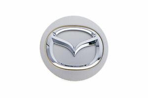 Mazda 3 5 6 Miata RX8 CX7 CX9 Silver Wheel Hub Center Cap Cover OEM BBM237190