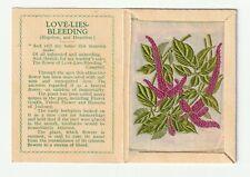 More details for wix kensitas cigarettes silk flower & cover medium 2nd series love lies bleeding