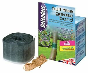 Defenders 1.75m 100% Organic Fruit Ornamental Tree Grease Band Anti Bug Ant