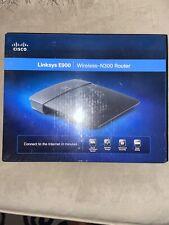Cisco Linksys E900 Wireless N300 WiFi Router 2.4GHz 802.11n 10/100 Ethernet Port