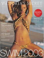 4 Victoria's Secret Catalogs Gisele Bundchen Swim 2003, Fall 2003, Summer 2003
