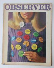 Observer Magazine - 3 December 1967