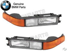 Pair Set of Front Left & Right Turn/Fog Light Assies OES For BMW E31 8-Series