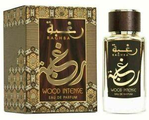 RAGHBA WOOD INTENSE 100ml By LATTAFA Eau De Perfum SPRAY PERFUME FOR MEN & WOMEN