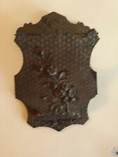 Victorian Antique Wood Wall Pocket