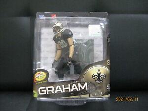 NFL Figure Series 34 Jimmy Graham   New Orleans Saints McFarlane Toys