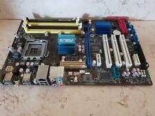 ASUS P5QL PRO LGA 775 Intel P43 ATX Intel Motherboard  4 slot ddr2  tested