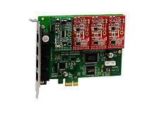 OpenVox A400E13 A400E 4 Port Analog PCI-E card + 1 FXS + 3 FXO, Ethernet (RJ45)