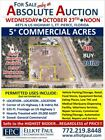 Absolute Auction - 5 Acres Commercial -Selling Regardless of Price