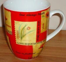 God Is Love ceramic coffee Mug by Divinity I Corinthians 13 Bible Scripture
