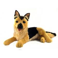 """German Shepherd Dog Lying Stuffed Animal Plush Toy King 16""""/ 40cm Bocchetta"""
