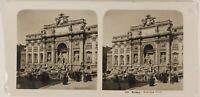 Roma Fontana Trevi Italia Foto ThL3n11 Stereo Vintage Analogica