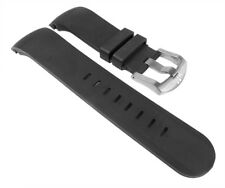 TW STEEL SPARE Band Rubber 24mm Black Grandeur TW41 TW43 TW125 TW705