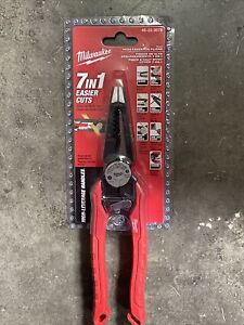 Milwaukee 48-22-3078 7IN1 High-Leverage Combination Pliers New