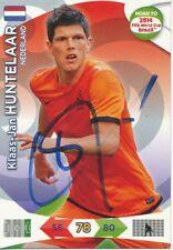 Klaas Jan Huntelaar  Holland  Panini Card Road to WM 2014 signiert 407228