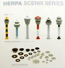 Herpa SCENIX SERIES Airport Air Traffic Control Tower 1/500 model kit