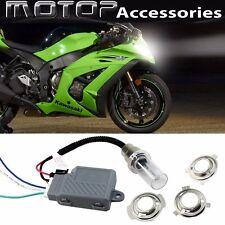 For Kawasaki 35W 6000K Motorcycle HID Headlight Kit H6M H4 BA20D Bi-Xenon Light