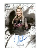 WWE Natalya 2018 Topps Undisputed On Card Autograph SN 80 of 199