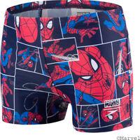 Speedo Kids Swim Shorts Marvel Spider-Man Beach Swimming Pool Aquashort Swimwear