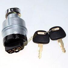 Ignition Switch (2) keys 4448303 for Hitachi John Deere JD