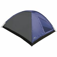 Yellowstone 2 Person Man Dome Tent Carry Bag & Fittings Included Blue TT004