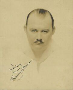 Paul WHITEMAN (Jazz): Signed Photograph with Original Press Photographs