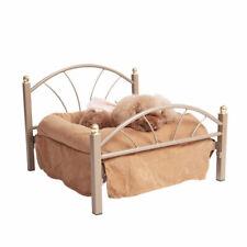 D98 Washable Brown Iron Art Soft Cotton Mat Pet Dog Cat Bed Hut Height 40CM