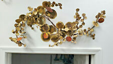 Jere inspired metal and enamel wall sculpture by Ralph McConnell 1972 brutalist