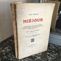 Felix Sant Miéjour Paesaggi Del Rhone Alpi Città Sotto Il Vento Mericant 1913