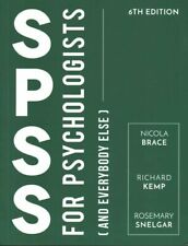 SPSS for Psychologists And Everybody Else by Nicola Brace 9781137579225