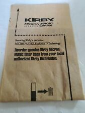 1 Kirby Micron Magic Filtration Bags  genuine oem part