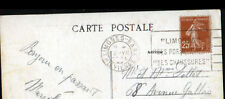 LES PAQUERETTES / LIMOGES (87) USINES & VOIE FERROVIAIRE en 1930