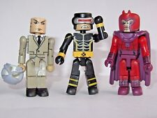 Marvel UNIVERSO MINIMATES X-MEN TOY FIGURE SET Professor X, Ciclope & MAGNETO