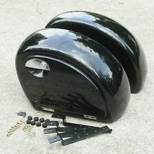 Hard Saddle bags w/ Mounting Kit For Honda Shadow 600 750 Valkyrie VTX 1300 1800