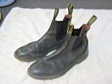 A Pair of Australian Baxter Black Leather Elastic Sided Mens Dress Boots Sz 11