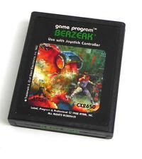 Atari 2600 Spiel -- BERZERK (Atari) -- Jeux Giocchi Juego