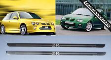 MG ZR 2 door Stainless Steel Sills / Kick Plates / Sill Protectors