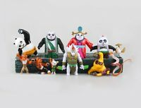 Kung Fu Panda 3 Action Figure Master Shifu Po Toy S Lot Dreamworks Set Kids New