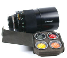 TAMRON SP 500mm F8 Mirror (55BB) with filters