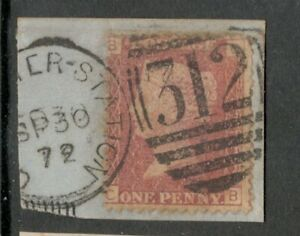 Queen Victoria  - 1d Red - Plate 121 - Gloucester Station - BETTER PLATE
