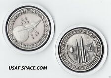 NASA ORION ALTAIR LSS GOP MOP EVA ARES 1 & ARES V FLOWN METAL MEDALLION-COIN