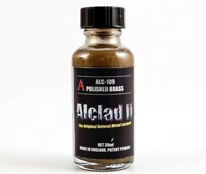 ALCLAD2, ALC109 POLISHED BRASS