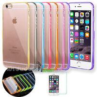 "Custodia Cover Bumper HARD BACK Trasparente per Apple iPhone 6 6s 4.7"""