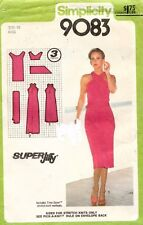 1970's VTG Simplicity Misses' Dress Pattern 9083 Size 10 UNC