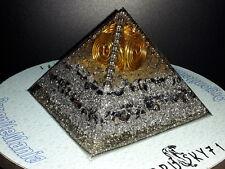 Piramide Orgonite Orgone Ki Prana Generator con Cristallo di quarzo Ialino (75)