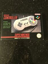 SNES SUPER NINTENDO ORIGINAL / OFFICIAL GAME CONTROLLER.BOXED.TESTED WORKING.