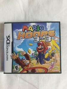Mario Hoops 3 on 3 - Nintendo DS - Complete with Cartridge, Case and Manual