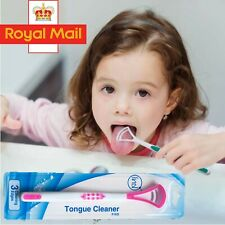 Tongue Cleaner Scraper High-Quality Plastic Hygiene Oral Mouth Care Reusable UK
