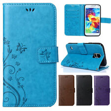 Wallet Flip Leather Patterned Holders Stand Case Cover For Samsung Note 8 S8 S7